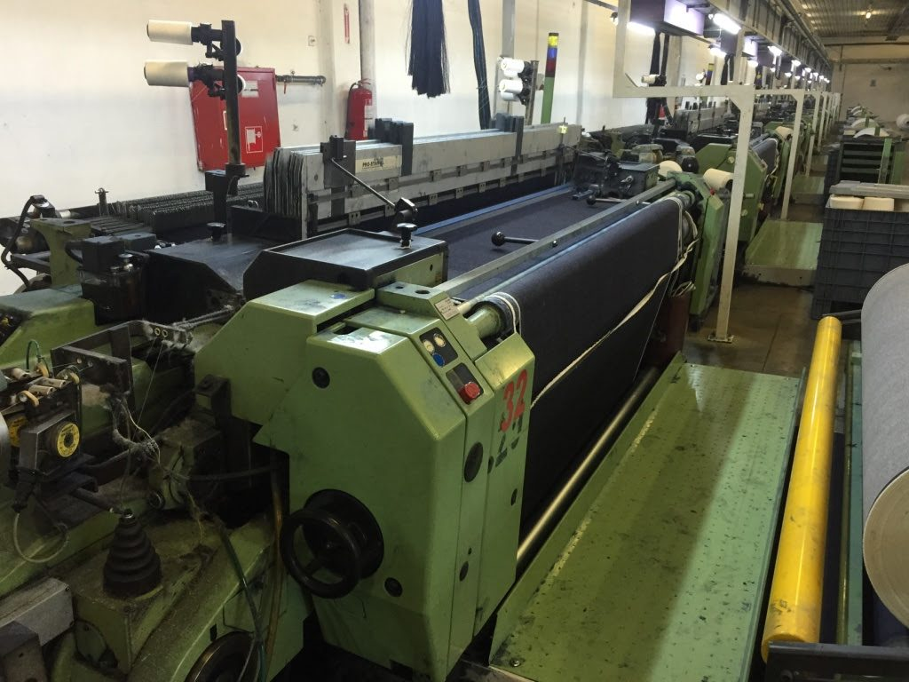 17 Sulzer P7150 Projectile Weaving Machines – G R  Loom